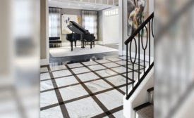 Calacatta Manhattan marble tiles