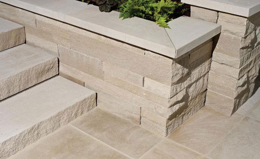 Garden Wall By Indiana Limestone Company