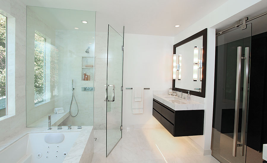 Calacatta Marble Used In Beverly Hills Home Transforms