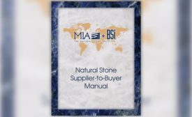 The Natural Stone Supplier-to-Buyer Manual from MIA+BSI