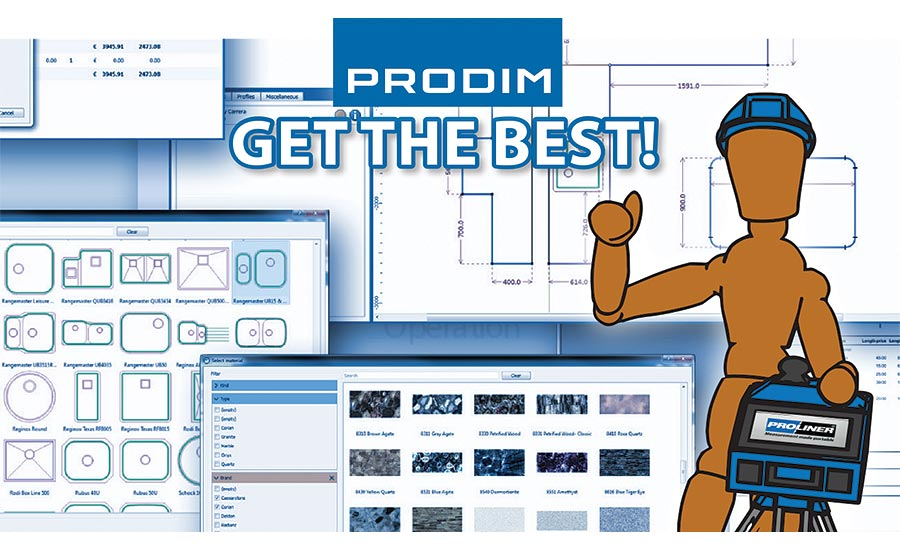 Prodim- Proliner digital templating tool