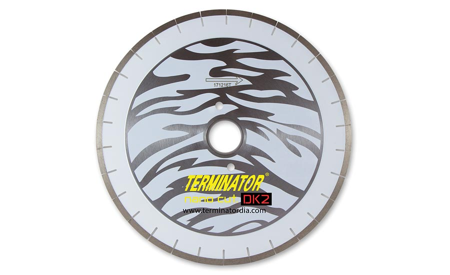 Terminator Diamond Products- Generation II Nanocut.DK2 bridge saw blade