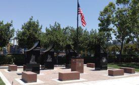 9/11 memorial in Hayward, CA