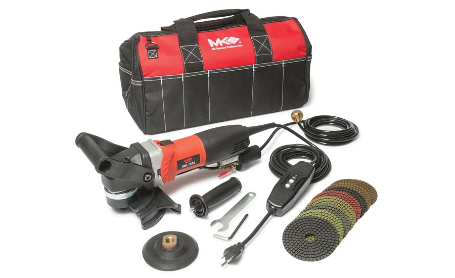 MK-1503 wet polisher from MK Diamond Products, Inc.