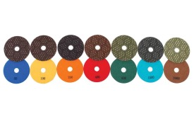 General Tools's wet polishing pads