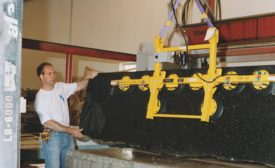Wood's Powr-Grip's MT Series Stone Lifter