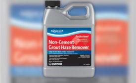 Aqua Mix Non-Cement Grout Haze Remover from Custom Building Products