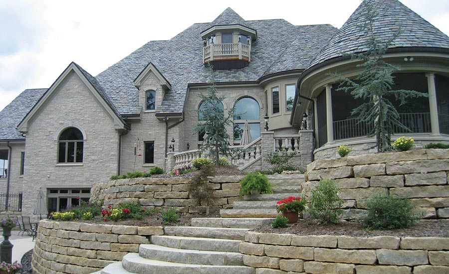 Michael Thronson Masonry Thin Stone Veneer Projects And: Michels Stone Receives Sustainable Dimension Stone