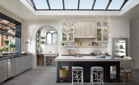 Designer Cheryl Kees Clendenon's greenhouse kitchen