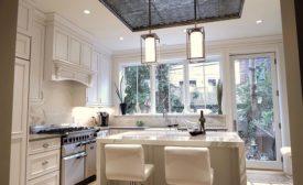 renovation headed by Michele Alfano Design in Montebello, NY