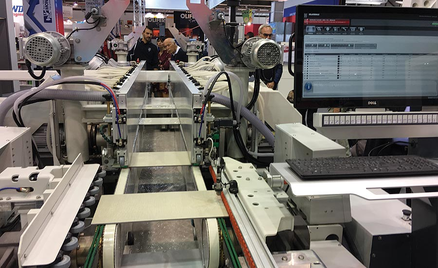 Busetti F10 double-edging machine from Intermac