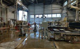 Countertop Specialties work floor