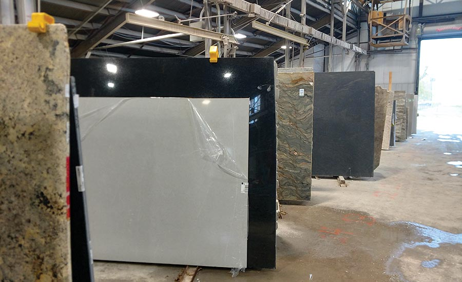 Countertop Specialties stocks both natural stone and quartz slabs