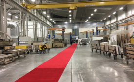 Cumar, Inc. of Everett, MA, celebrated with a red carpet