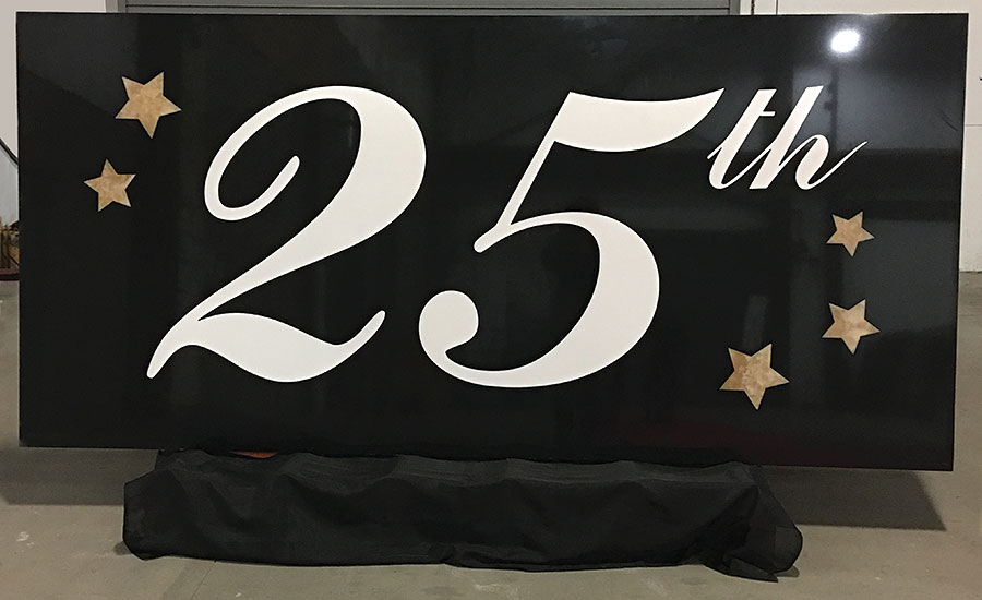 Cumar's The 25th anniversary slab