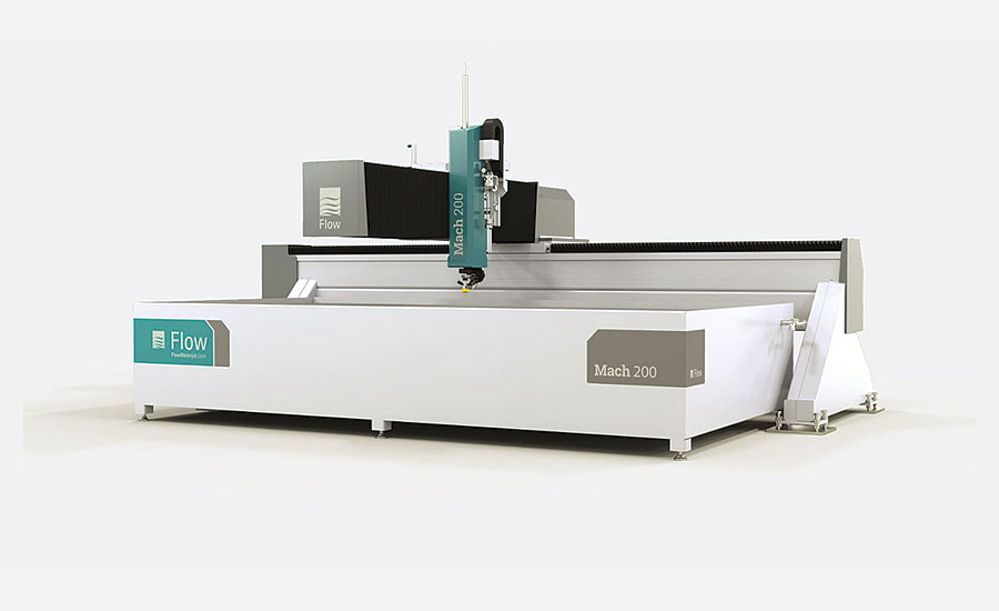 The Mach 200 with Pivot+™ Waterjet by Flow International Corp.