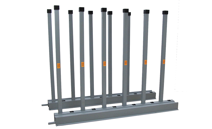 The Groves Incorporated BR2.5-90 extra-long heavy-duty bundle rack