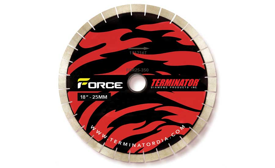 The Force bridge saw blade by Terminator Diamond Products