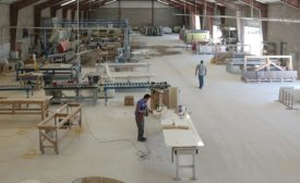 Gecko SSS fabrication shop floor