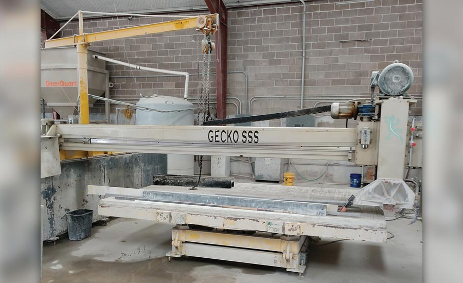 a yukon saw from park industries at gecko solid surface solutions