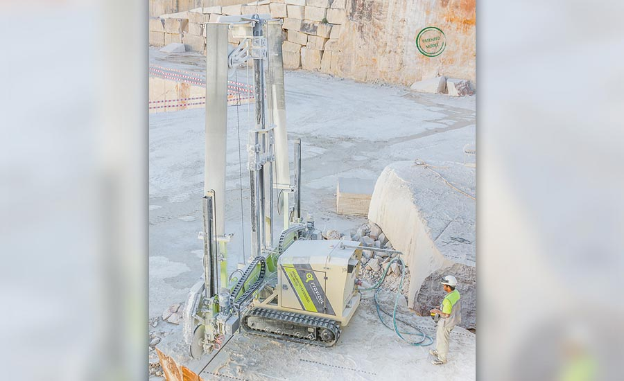 Machine of the Month: Tracked Extendable Diamond Wire Machine