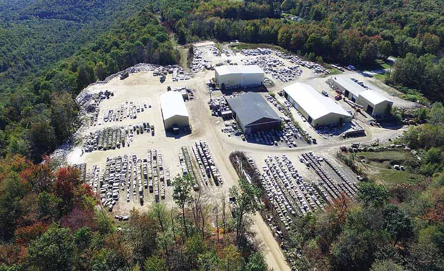 Cutting facility of Russell Stone Products, Inc.