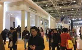 Attendees at the Xiamen Stone Fair
