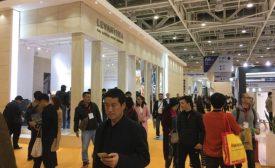 Attendees at the Xiamen Stone Fair