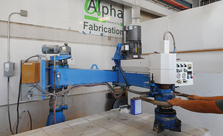 Radial arm saw from Sawing Systems