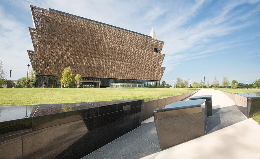 The National Mall's newly opened museum NMAACH