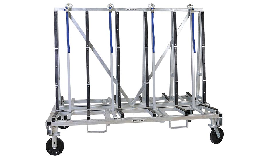 TR4482 transport racks by Groves Incorporated