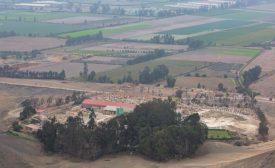 Minera Deisi's processing plant