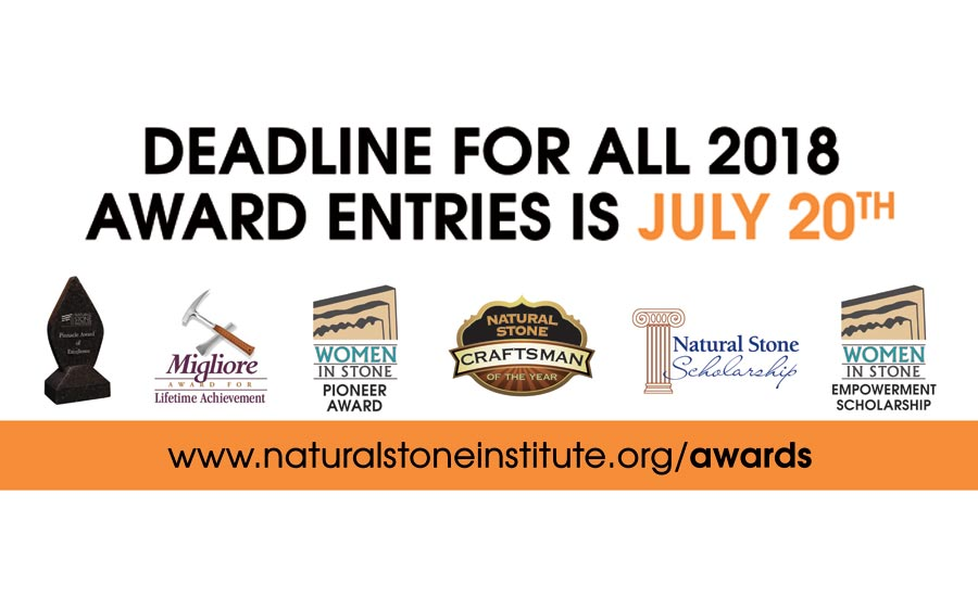 the Natural Stone Institute's Pinnacle Awards program