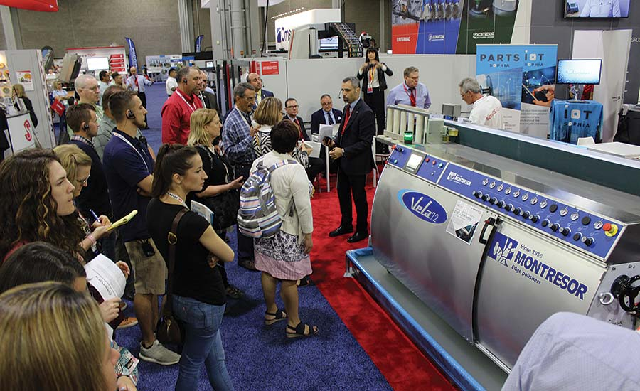 NSI holds tour at Coverings 2018