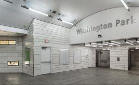 The Washington Park Tri-Met Station in Portland, OR