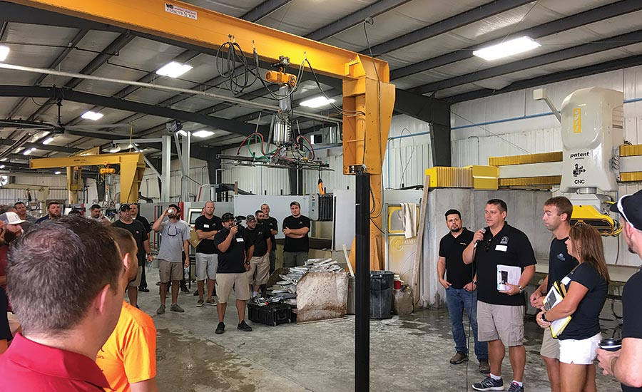 Slabworks of Montana hosts fabricator workshop
