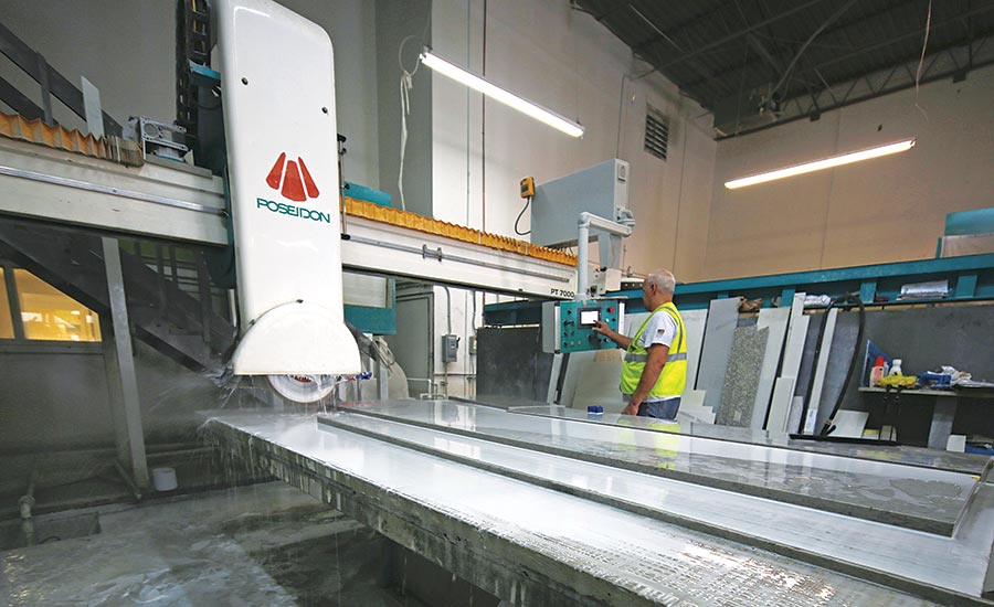 PT – 7000 automatic bridge saws