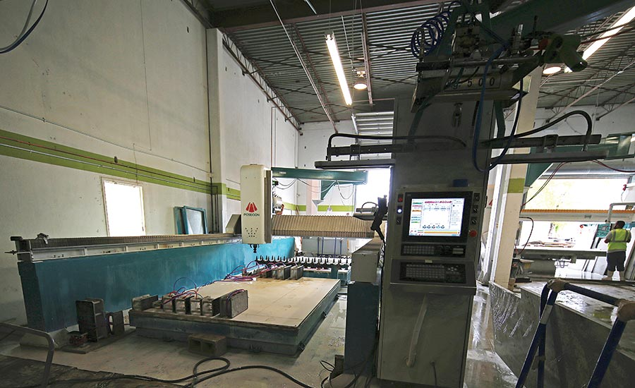 Poseidon Guardian CNC 3-axis stone machine center