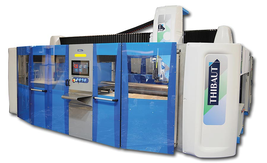 Thibaut is a 6-axis multifunction CNC machine