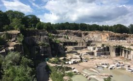 The Stony Creek Quarry in Branford, CT