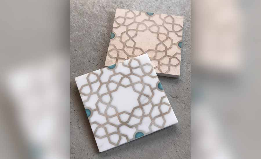 Medina tiles from StoneImpressions