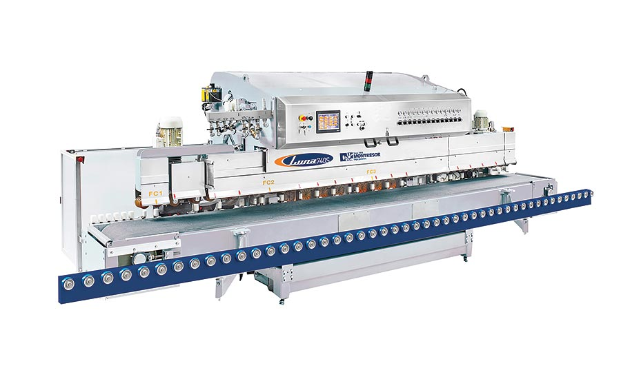 Luna Series edge polishing machines from Montresor