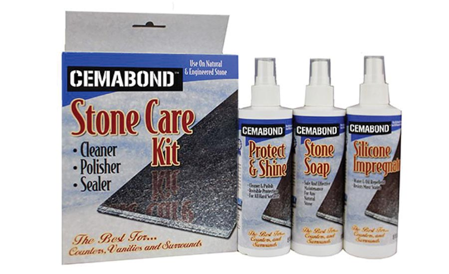 Regent Stone Products' Cemabond stone care kit