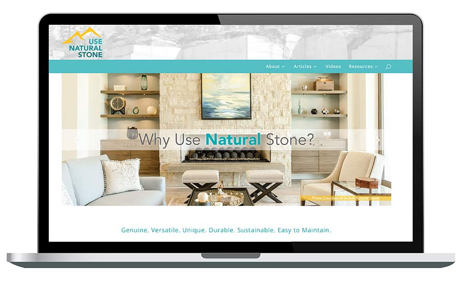 natural stone website