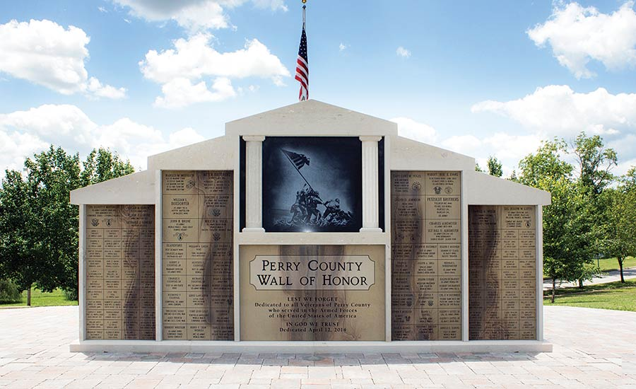 Perry County Wall of Honor in Perryville, MO