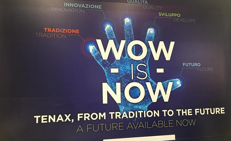 "TENAX INTRODUCES ITS ""WOW IS NOW"" CAMPAIGN"