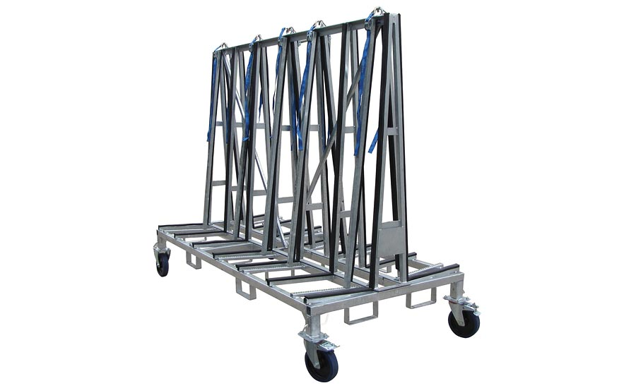 Weha's large Double Sided Transport A Frame Racks