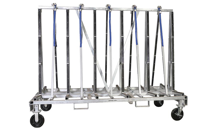 Groves, Inc.'s Transport Rack