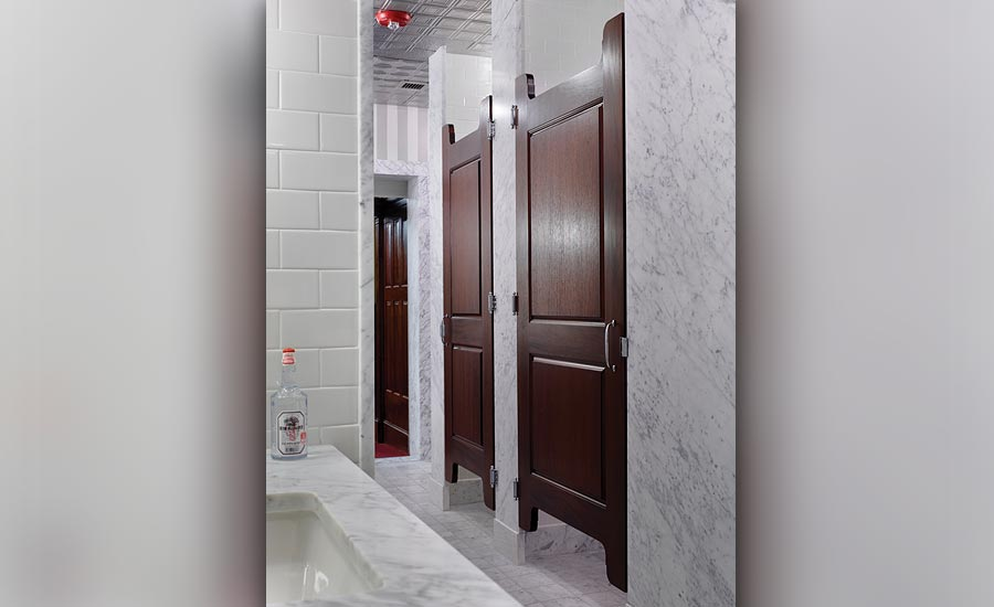 well-defined shower and toilet areas with handicap accessibility