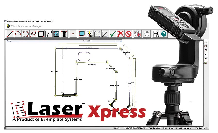 ELaser Xpress Templating System from ETemplate Systems